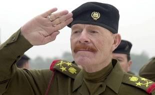 L'ex-vice-président irakien, Ezzat Ibrahim al-Douri, en 2002.