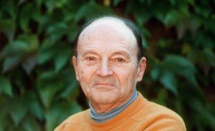 L'écrivain Michel Tournier en 1996