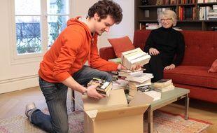 La société eco-citoyenne collecte gratutement des livres au domicile des particuliers.