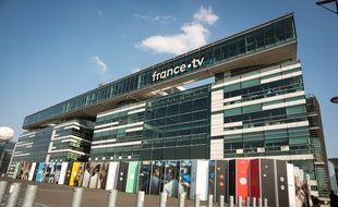 Le siège de France Télévisions, à Paris (15e), le 1er avril 2019.