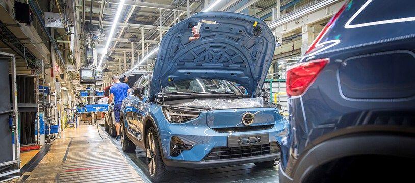 Lancement en Belgique de la production de la Volvo C40