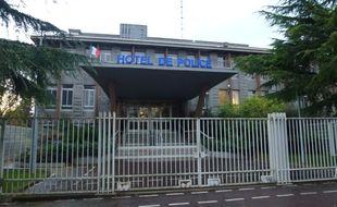 L'Hôtel de police de Rennes, situé boulevard de la Tour d'Auvergne.
