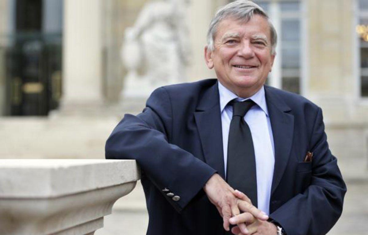 L' ex-député PS Jean Glavany. – KENZO TRIBOUILLARD / AFP
