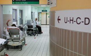 Les urgences medicales de HEH (Hopital Hedourd heriot) de Lyon, le 15 mai 2013. CYRIL VILLEMAIN/20 MINUTES