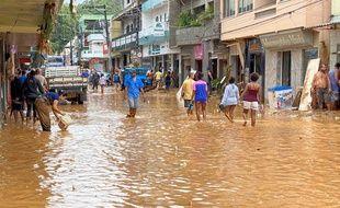 Six personnes sont décédées à la suite de pluies diluviennes au Brésil.