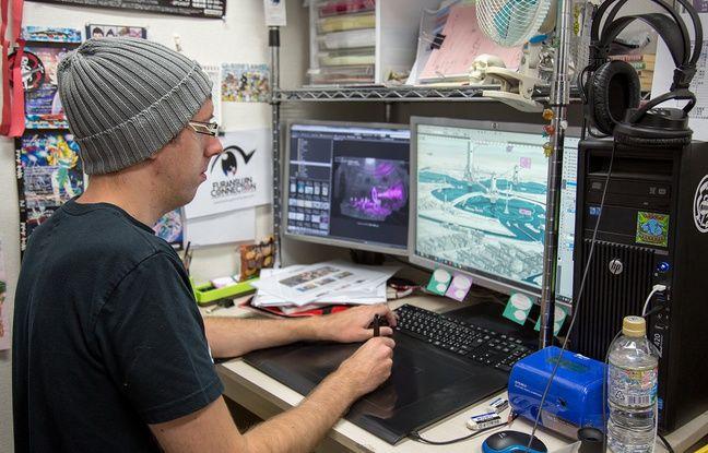 Thomas Romain, du studio d'animation japonais Satelight.