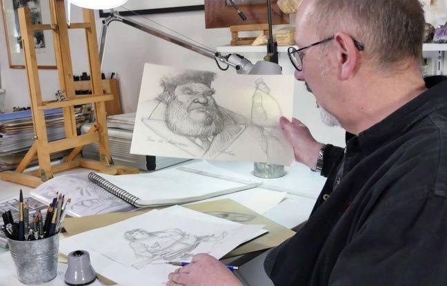 Un exemple de dessin préparatoire de Benoît Sokal pour «Syberia 3»
