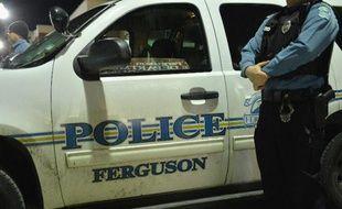 Un véhicule de police à Ferguson, le 4 mars 2015