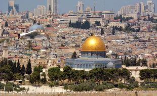 Une vue panoramique de Jérusalem.