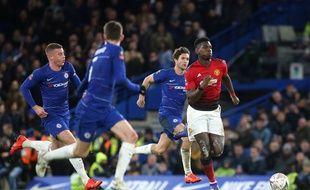 Paul Pogba a encore livré une prestation de grande classe à Chelsea.