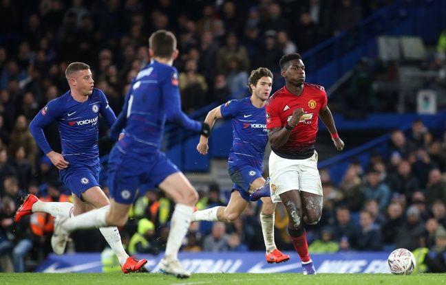 VIDEO. Angleterre: Paul Pogba et Manchester United se reprennent à Chelsea