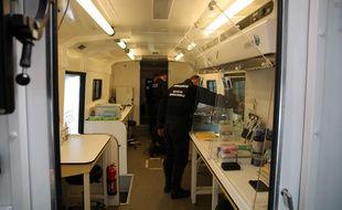 Cinq experts de la gendarmeries sont mobilisés pour effectuer des tests de dépistage du Covid-19