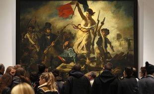 Des dessins préparatoires à la la fameuse peinture de « La liberté guidant le peuple » réalisés par Eugène Delacroix seront exposés à partir du 20 juinà Bordeaux.