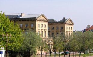 Le tribunal de Metz.