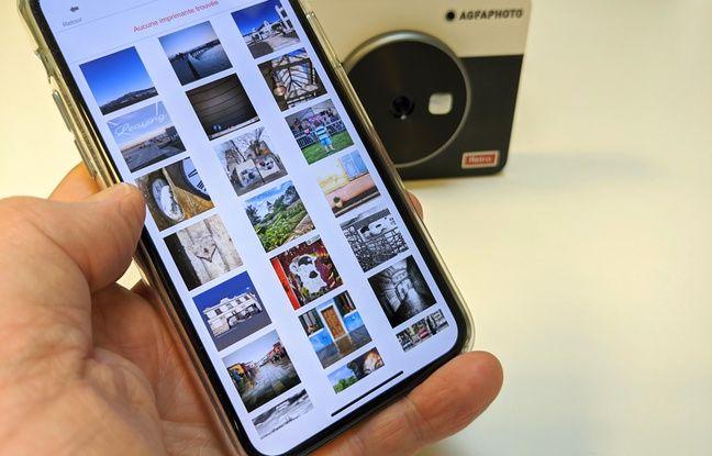 Une application assez complète transforme l'appareil photo en imprimante.