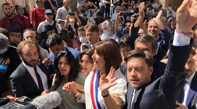 Michèle Rubirola élue première maire de Marseille grâce à Samia Ghali
