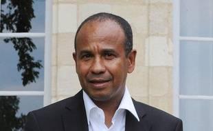 Jean Tigana, à l'époque où il était coach des Girondins de Bordeaux, en mai 2010.