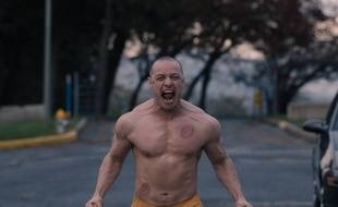 James McAvoy dans Glass de Night M. Shyamalan