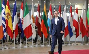 Alexis Tsipras est le cef du gouvernement grec depuis janvier 2015.