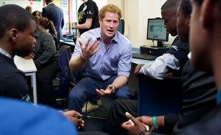 Le Prince Harry, à Londres, le 21 juillet 2014.