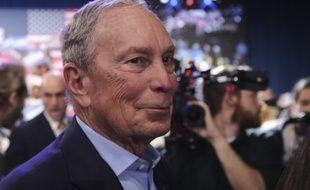 Mike Bloomberg, le 3 mars 2020 à West Palm Beach (Etats-Unis).