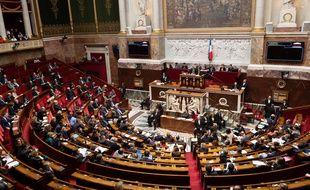 L'Assemblée nationale, le 29 janvier 2019.