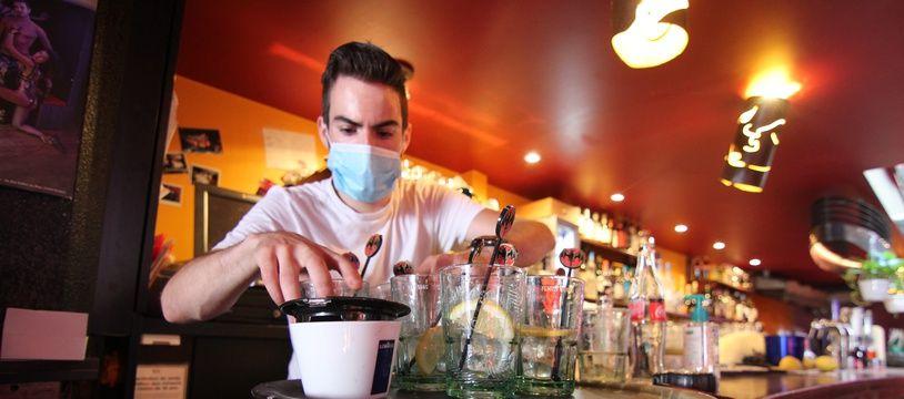 A Rennes, les bars ont rouvert le mardi 2 juin à l'occasion de la deuxième phase de déconfinement.