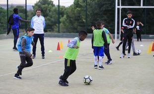 Les enfants de La Castellane vont pouvoir rejouer au foot cette saison.