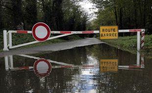 Illustration: pluie et inondation dans le sud de la France.
