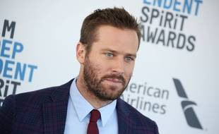 L'acteur américain Armie Hammer au 34e Film Independent Spirit Awards, le 23 février 2019 à Los Angeles