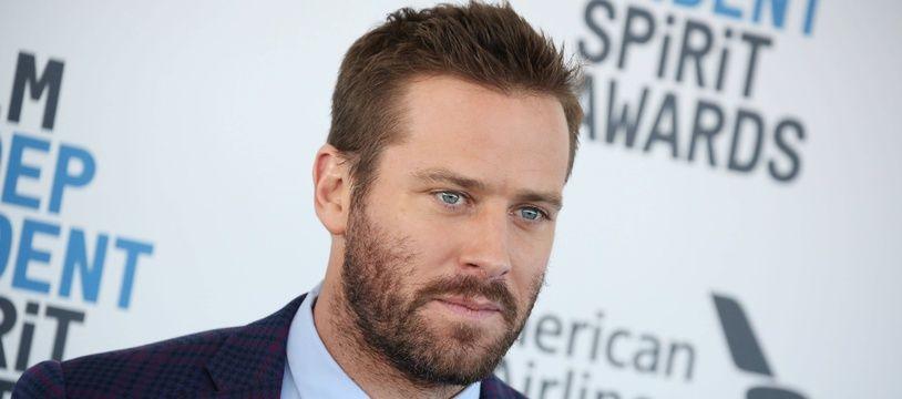 L'acteur américain Armie Hammer au 34e Film Independent Spirit Awards, le 23 février 2019 à Los Angeles