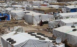Un camp de réfugiés syriens au Liban