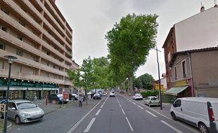 La route de Blagnac, à Toulouse.