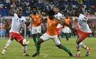 La Côte d'Ivoire a fait match nul face au Congo (2-2), vendredi 20 janvier.