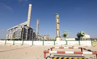 Le 9 avril 2014, un terminal pétrolier en Libye