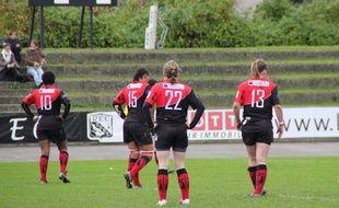 Des joueuses du Stade Rennais Rugby, qui évolue dans l'élite.