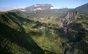 Le cirque de Salazie à La Réunion en 2008.