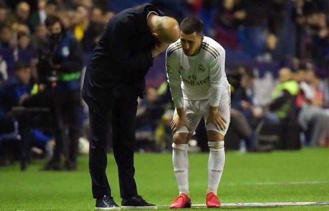 Real Madrid: Zinédine Zidane «ne sait pas» si Eden Hazard pourra rejouer cette saison