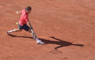 Le Suisse Roger Federer, à Roland Garros, le 31 mai 2021, à Paris.