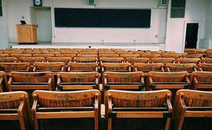 Une salle de classe (illustration).