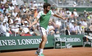 Gilles Simon, le 29 mai 2017 à Roland Garros.