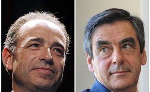 """Les deux principaux rivaux à la présidence de l'UMP, François Fillon et Jean-François Copé, ont fait samedi campagne sans se croiser au """"campus de la reconquête"""" des jeunes UMP au Touquet."""
