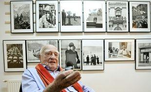Le photographe autrichien Erich Lessing, l'un des doyens du photoreportage, est mort à l'âge de 95 ans