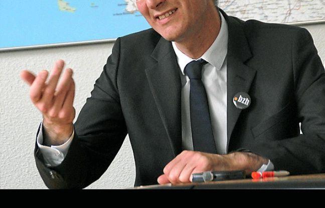 David Lesvenan, président de .bzh.