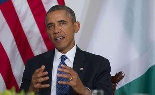 Le président américain Barack Obama le 23 septembre 2013 à New-York.