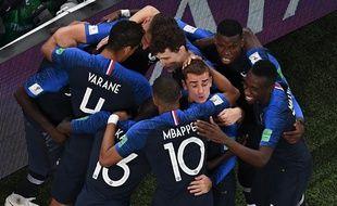 Les Bleus ont marqué grâce à Umtiti