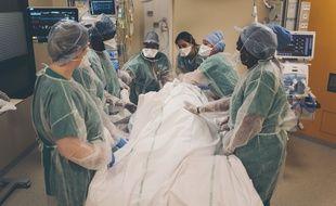 Coronavirus: Moins de 12.000 patients hospitalisés, la pression continue de diminuer dans les hôpitaux (Illustration)