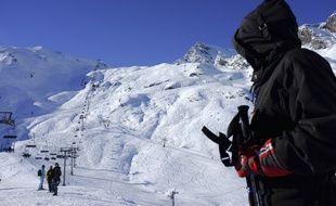 Illustration de la station de ski de Cauterets, dans les Hautes-Pyrénées.