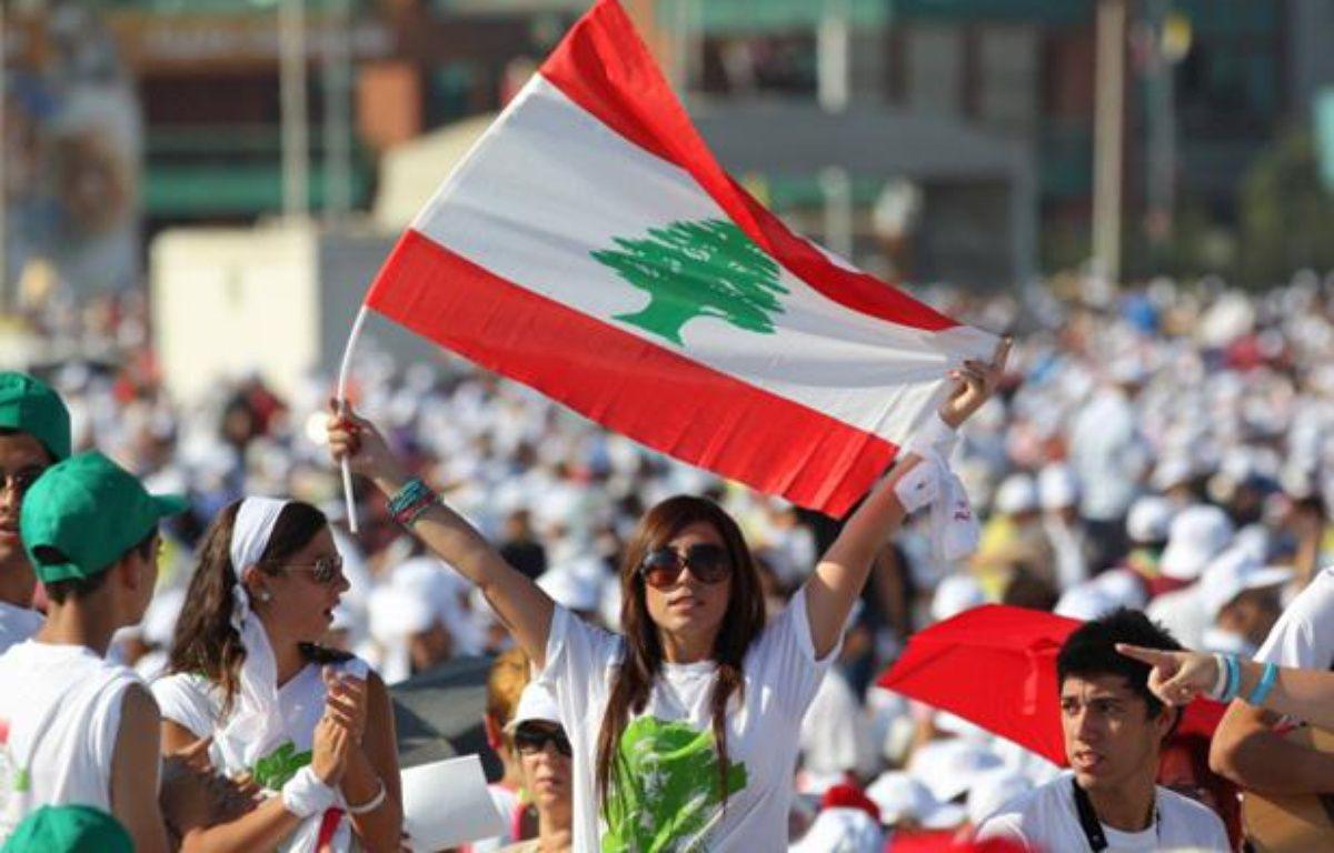 Des chrétiens du Liban pendant la messe en plein air du pape Benoît XVI, le 16 septembre 2012 à Beyrouth. – ALEXANDRE GELEBART / 20 MINUTES