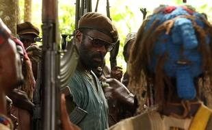 Idris Elba dans le film «Beats of No Nation».